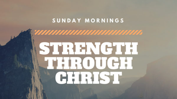 Strength through Christ for the Fight  Image