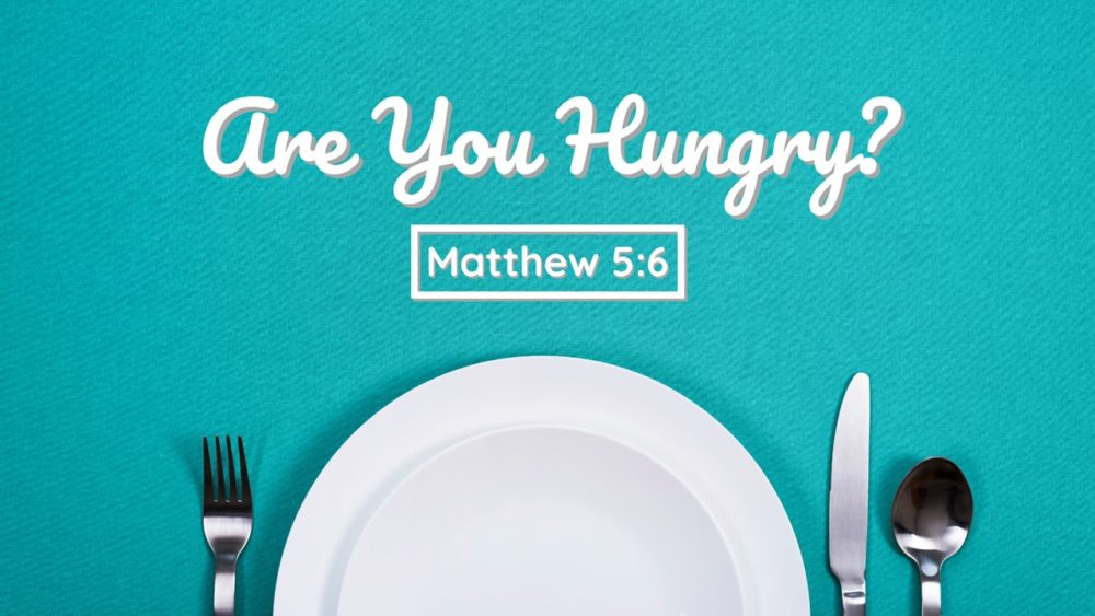 Are You Hungry? Image
