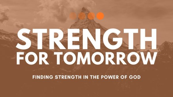 God Is Our Strength for Our Daily Lives Image